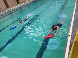 Aquatics with Rachel and Rebecca